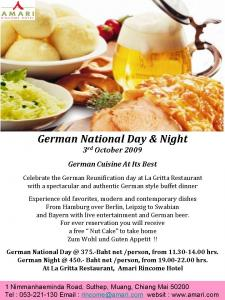 German National Day  Night