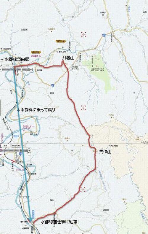 男体山マップ