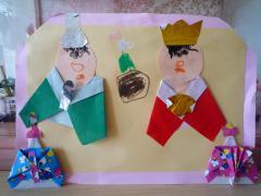 手作りの雛人形