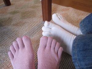 5本足靴下