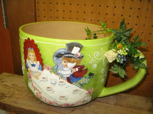 アリスのお茶会シーン