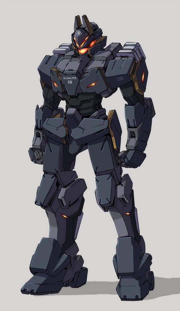 (株)ミシマ重工/戦術歩行装甲車両:零式