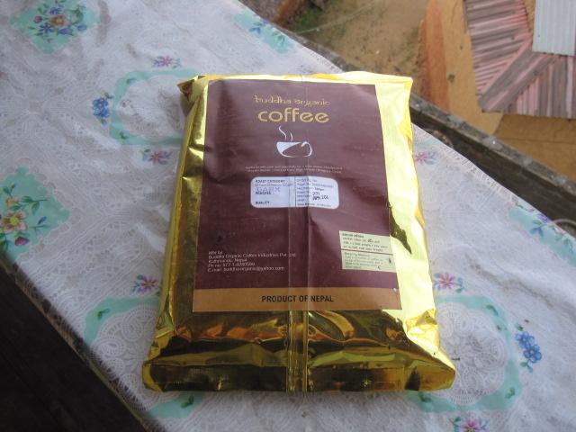 ネパール産のコーヒー