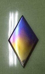ARCのチタン製ミツビシスリーダイヤエンブレムの写真