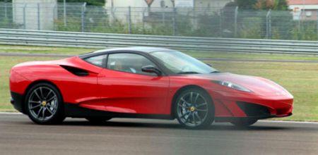 フェラーリSP1のボディサイドの写真