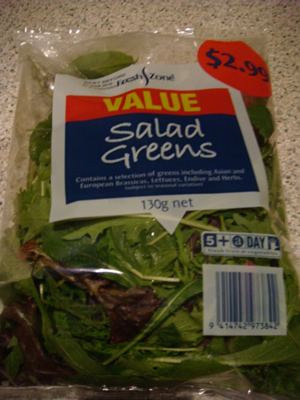 salad $2.99