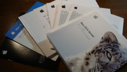 Mac mini 冊子