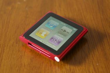 iPod nano第6世代1