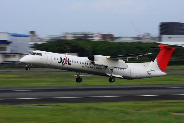 JAC DHC8-Q400 JAC2057@伊丹スカイパーク(by 40D with EF100-400/4.5-5.6L IS)