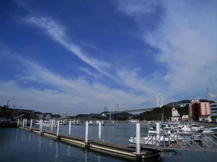 関門海峡の景色@しおかぜの路(by IXY DIGITAL 910IS)
