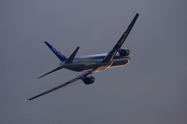 ANA B777-381 ANA36@エアフロントオアシス(by 40D with EF100-400/4.5-5.6L IS)