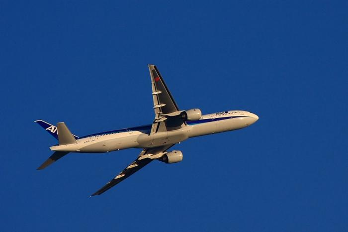 ANA B777-381 ANA36@山手台南公園(by 40D with EF100-400/4.5-5.6L IS)
