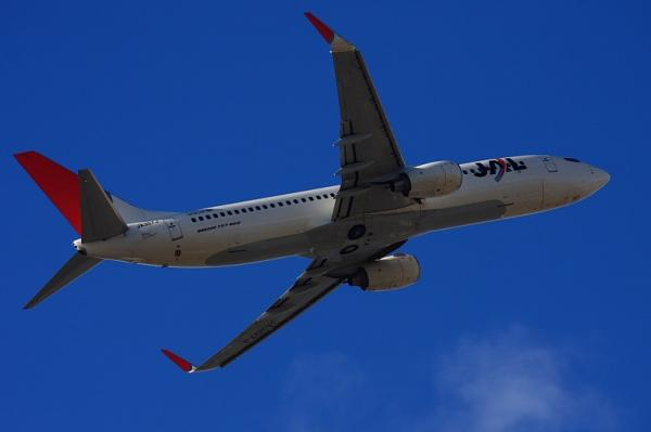 JEX B737-846 JC2203@AFO(by 40D with EF100-400)
