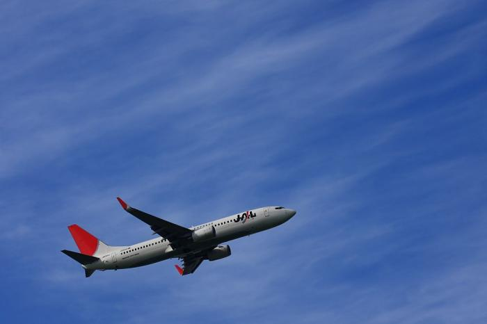JEX B737-846 TEST FLIGHT?@エアフロントオアシス(by 40D with EF100-400/4.5-5.6L IS)