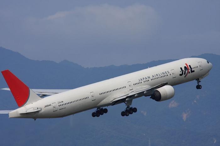 JAL B777-346 JAL2081@ラ・ソーラ(by 40D with SIGMA APO300/2.8EX+APO TC1.4x)