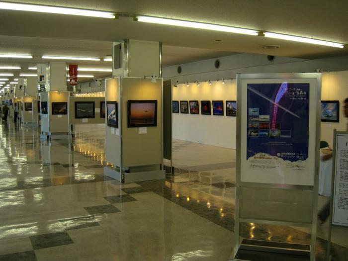 空の日写真展会場@福岡空港第3ターミナル1F(by IXY DIGITAL 910IS)