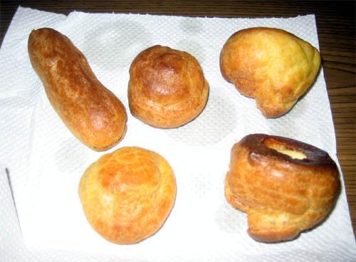 子供たちが作ったパン