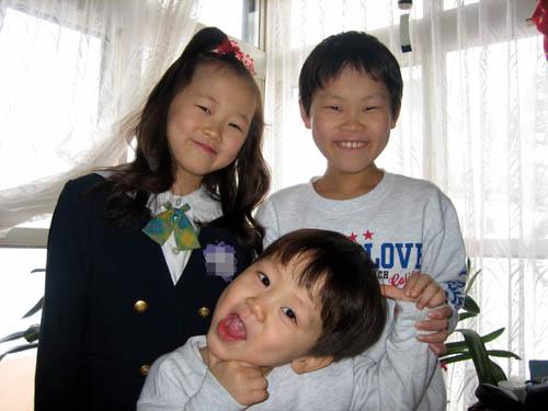 いつも仲良し3人兄妹!