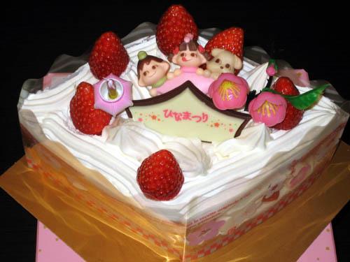 中3日でケーキ・・・