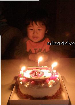 3歳 お誕生日4