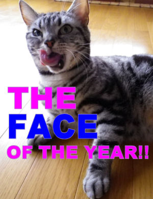 THE FACE OF THE YEAR