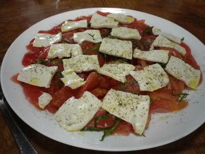 NN的トマトサラダ