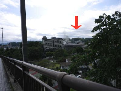 愛妻橋から見た磯部温泉1