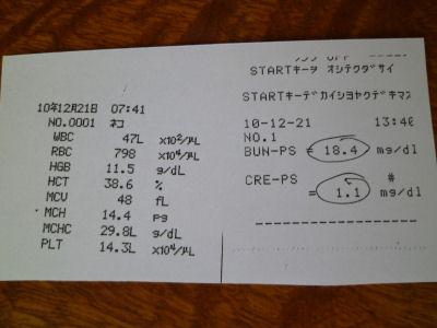 20101221しま血液検査結果