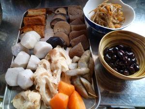 正月用煮〆主なラインナップ