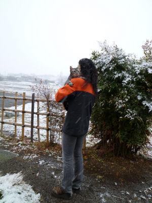 雪としまとワタクシ
