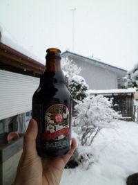 雪見ビール!