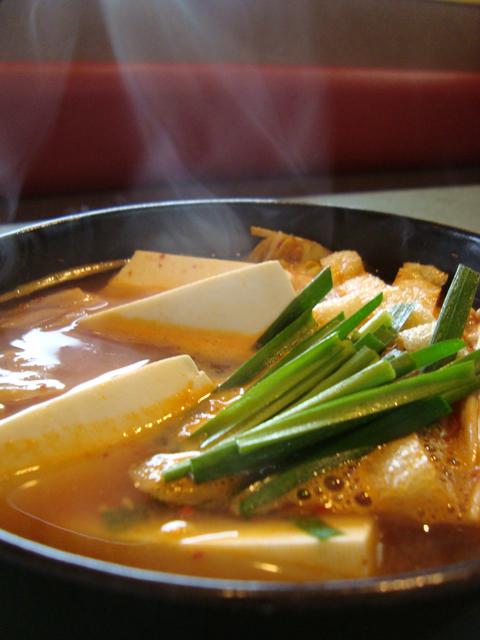 豆腐チゲ①