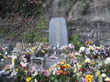 のんちゃんのお墓でつ