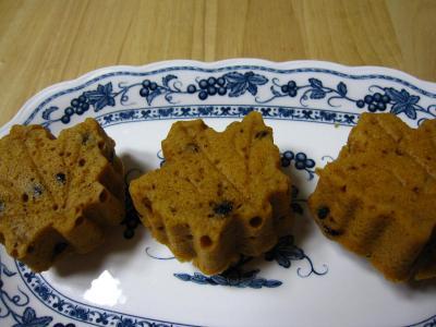 天然酵母キャラメルケーキ
