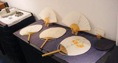 茶房 団扇扇子