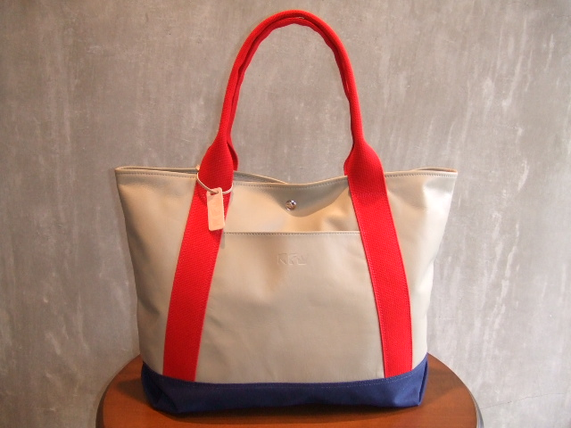 RFW LEATHER&CANVAS MID TOTE BE&RD