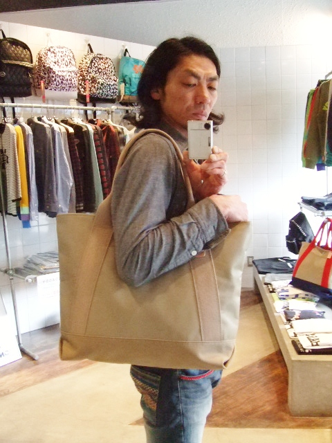 RFW LEATHER&CANVAS MID TOTE ST1
