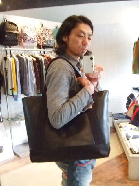 RFW LEATHER&CANVAS MID TOTE ST4