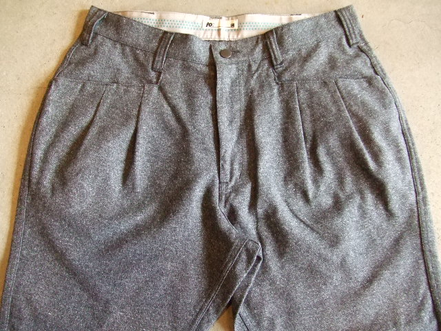 TO CROPPTO PANTS CGRAY FT1