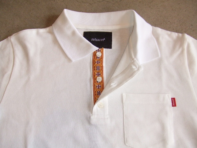 rehacer FLOWER POLO WHITE FT1