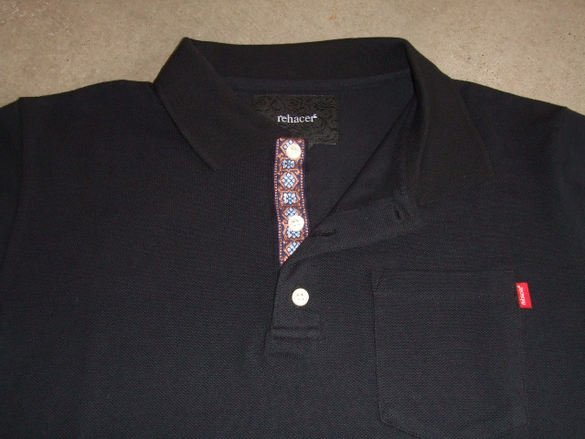 rehacer FLOWER POLO BLACK FT1