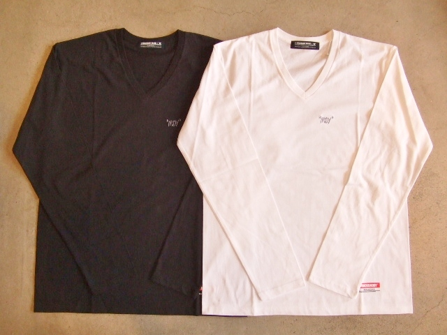MDY V NECK LONG REEVE TEE
