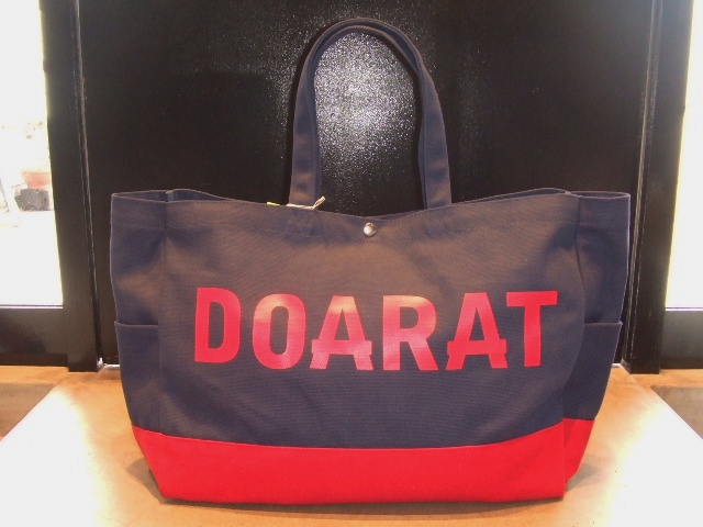DOARAT TWO TONE BIG TOTE NAVY