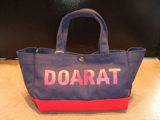 DOARAT TWO TONE SMALL TOTE NAVY