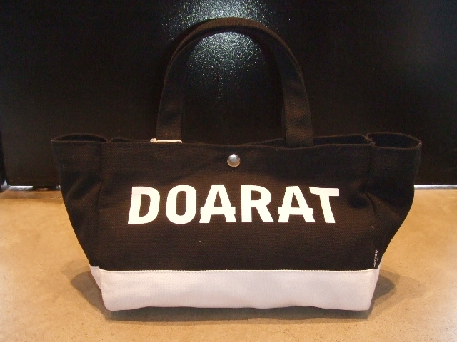 DOARAT TWO TONE SMALL TOTE BLACK
