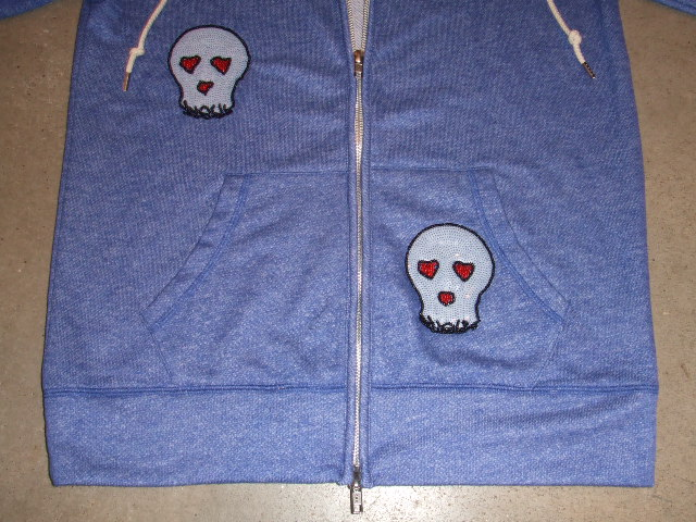 HALFMAN SEQUENCE HOODIE BLUE FT3