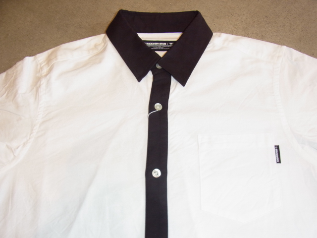 MDY DANCE OXFORD SHIRTS WHITE FT1