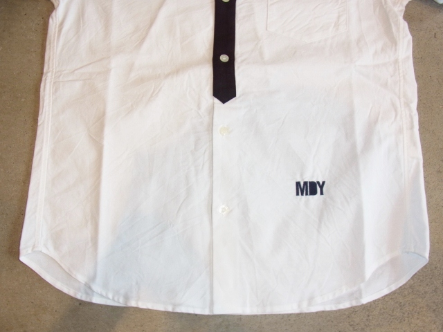 MDY DANCE OXFORD SHIRTS WHITE FT2