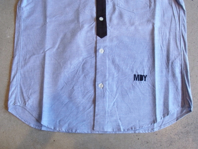 MDY DANCE OXFORD SHIRTS BLUE FT2