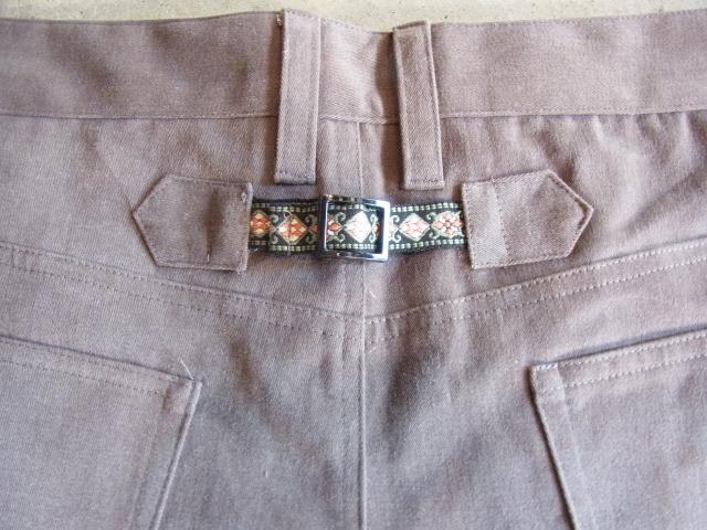 rehacer R SOFT SARROUEL PANTS BK2